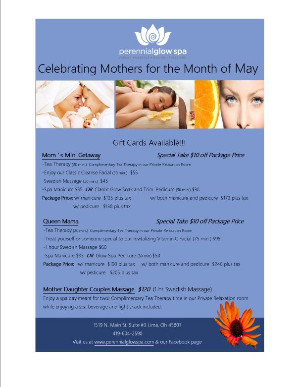 Celebrating Mothers Month of May